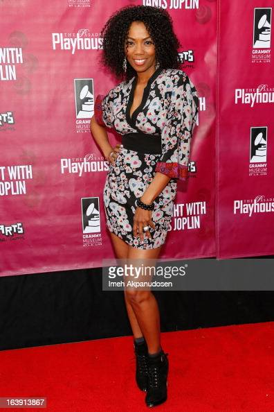 Actress Vanessa Williams attends the opening night of 'One Night With Janis Joplin' at Pasadena Playhouse on March 17 2013 in Pasadena California