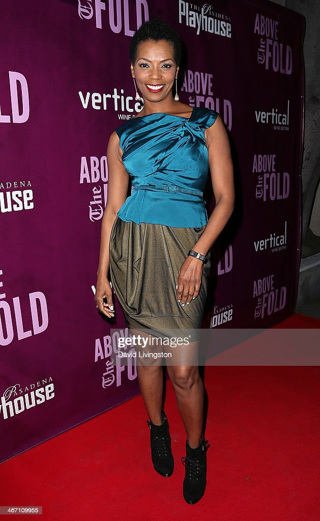 Actress Vanessa Williams attends the opening night performance of 'Above the Fold' at the Pasadena Playhouse on February 5, 2014 in Pasadena, California.
