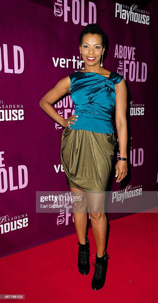 Actress Vanessa Williams attends the opening night performance of 'Above the Rim' at Pasadena Playhouse on February 5, 2014 in Pasadena, California.