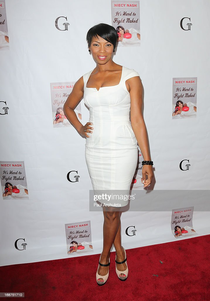 Actress Vanessa Williams attends the release party for Niecy Nash new book 'It's Hard To Fight Naked' at the Luxe Rodeo Drive Hotel on May 14, 2013 in Beverly Hills, California.