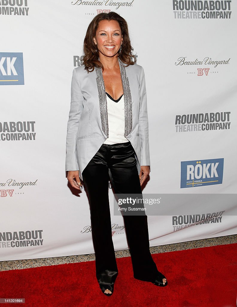 Actress Vanessa Williams attends The Roundabout Theatre 2012 Spring Gala 'From Screen to Stage' dinner and auction at the Hammerstein Ballroom on March 12, 2012 in New York City.