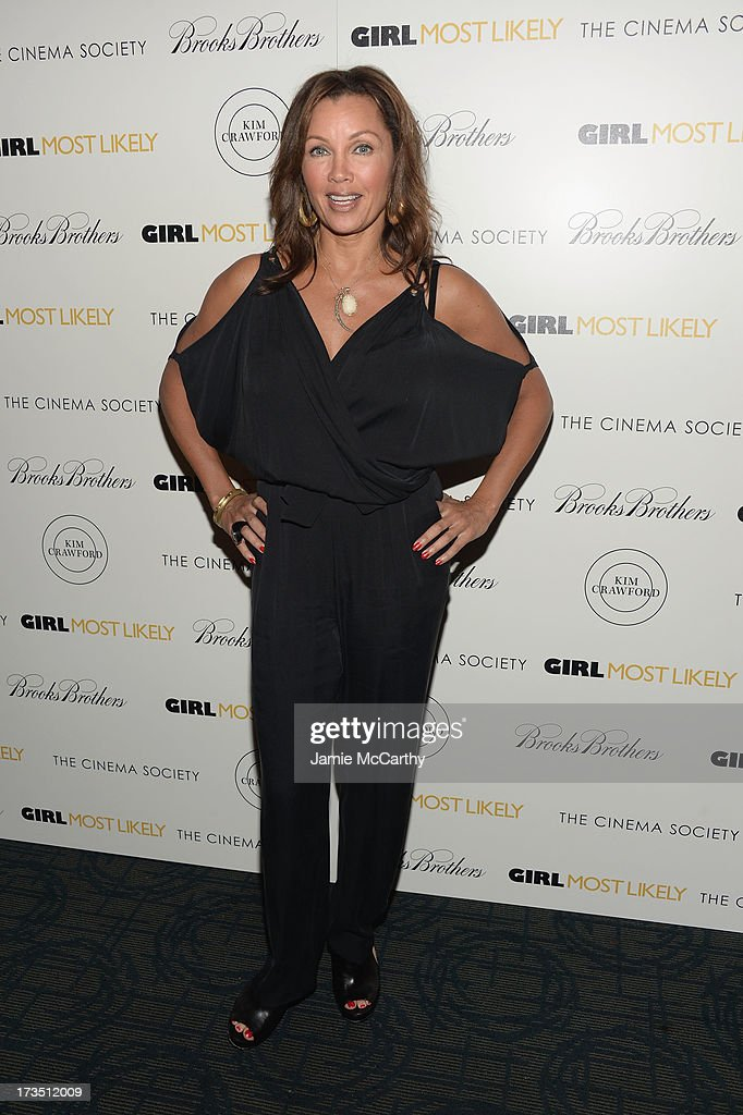 Actress <a gi-track='captionPersonalityLinkClicked' href=/galleries/search?phrase=Vanessa+Williams&family=editorial&specificpeople=201691 ng-click='$event.stopPropagation()'>Vanessa Williams</a> attends the screening of Lionsgate and Roadside Attractions' 'Girl Most Likely' hosted by The Cinema Society & Brooks Brothers at Landmark's Sunshine Cinema on July 15, 2013 in New York City.