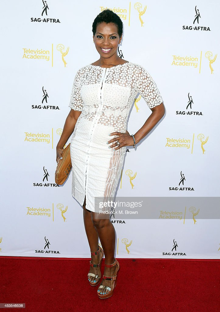 Actress Vanessa Williams attends the Television Academy and SAG-AFTRA Presents Dynamic & Diverse: A 66th Emmy Awards Celebration of Diversity at the Leonard H. Goldenson Theatre on August 12, 2014 in North Hollywood, California.