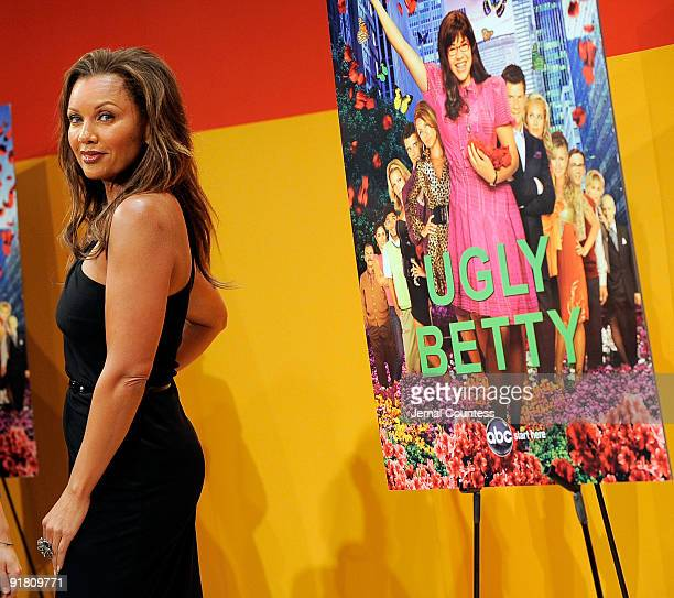Actress Vanessa Williams attends TimesTalks An Evening With Ugly Betty at TheTimesCenter on October 12 2009 in New York City