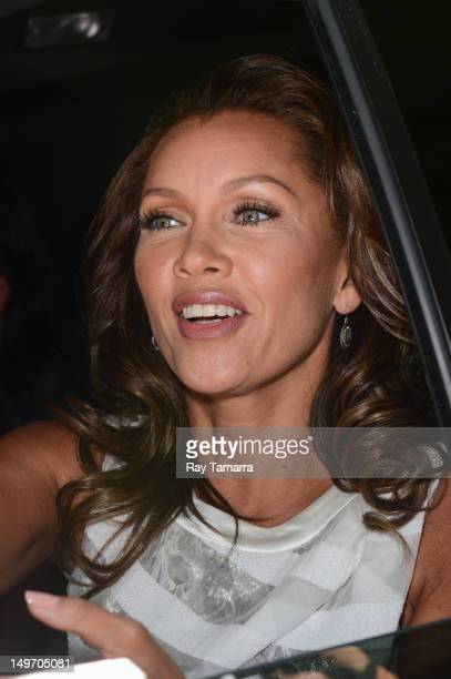 Actress Vanessa Williams leaves the 'Live With Kelly' taping at the ABC Lincoln Center Studios on August 1 2012 in New York City