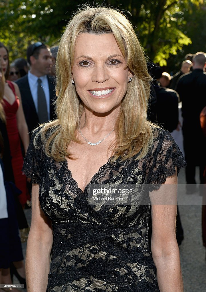 Actress Vanna White inside the 13th Annual Chrysalis Butterfly Ball sponsored by Audi, Kayne Anderson and Stella Artois in Los Angeles, California on June 7th, 2014.