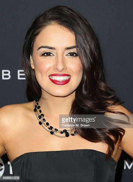Actress Vannessa Vasquez attends Latina Magazine's '30 Under 30' Party at the SkyBar at the Mondrian Los Angeles hotel on November 13 2014 in West...