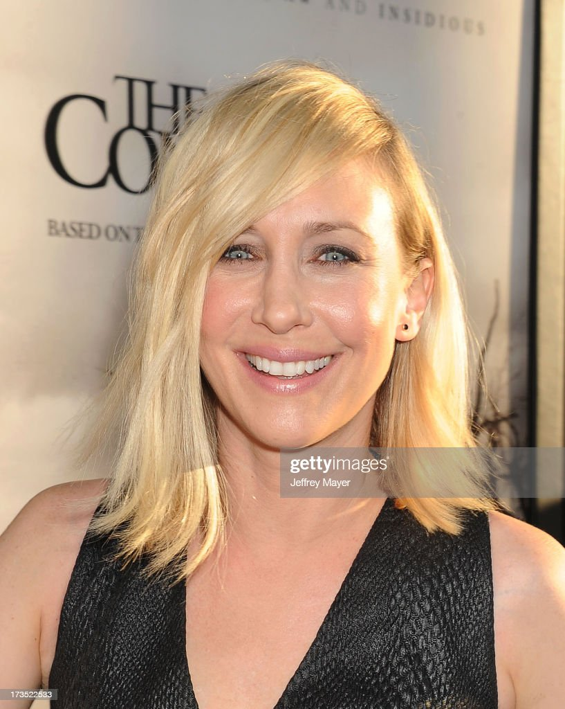 Actress <a gi-track='captionPersonalityLinkClicked' href=/galleries/search?phrase=Vera+Farmiga&family=editorial&specificpeople=227012 ng-click='$event.stopPropagation()'>Vera Farmiga</a> arrives at 'The Conjuring' Los Angeles Premiere at the ArcLight Cinemas Cinerama Dome on July 15, 2013 in Hollywood, California.