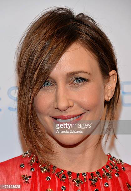 Actress Vera Farmiga arrives at the premiere party for AE's Season 2 of 'Bates Motel' and the series premiere of 'Those Who Kill' at Warwick on...