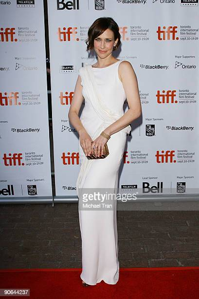 Actress Vera Farmiga arrives to the 'Up In The Air' premiere during 2009 Toronto International Film Festival held at Ryerson Theatre on September 12...