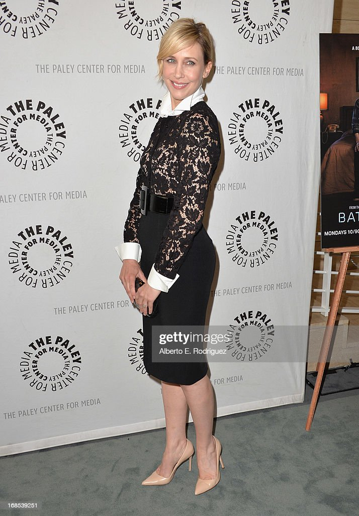Actress Vera Farmiga arrivies to The Paley Center for Media Presents 'Bates Motel: Reimagining A Cinema Icon' at The Paley Center for Media on May 10, 2013 in Beverly Hills, California.