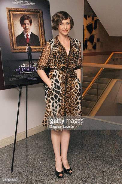 Actress Vera Farmiga attends a screening of the film 'Joshua' at the Lighthouse Theatre on July 3 2007 in New York City
