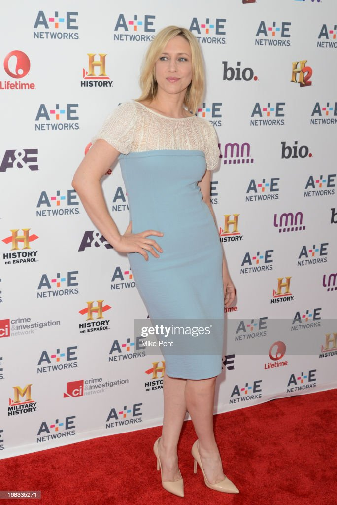 Actress Vera Farmiga attends A+E Networks 2013 Upfront at Lincoln Center on May 8, 2013 in New York City.