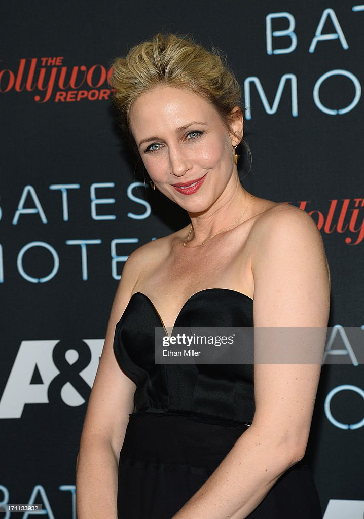 Actress Vera Farmiga attends A&E's 'Bates Motel' party during Comic-Con International 2013 at Gang Kitchen on July 20, 2013 in San Diego, California.