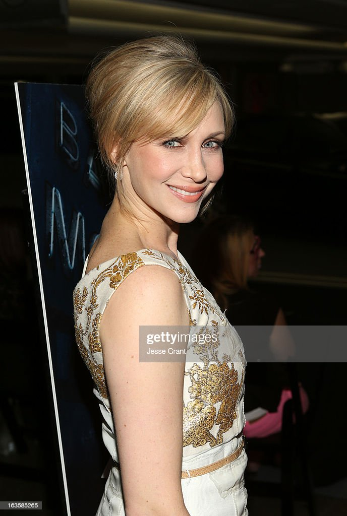 Actress <a gi-track='captionPersonalityLinkClicked' href=/galleries/search?phrase=Vera+Farmiga&family=editorial&specificpeople=227012 ng-click='$event.stopPropagation()'>Vera Farmiga</a> attends A&E's 'Bates Motel' Premiere Party on March 12, 2013 in West Hollywood, California.