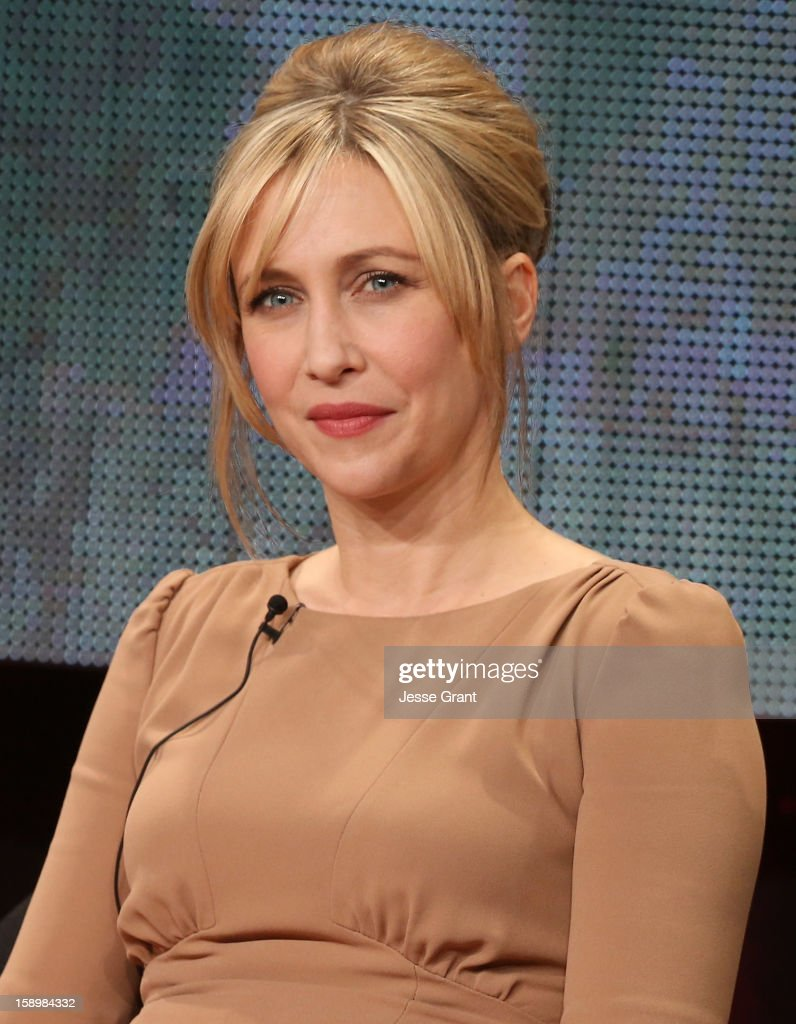 Actress Vera Farmiga attends A&E's 'Bates Motel' TCA Panel at the Langham Hotel on January 4, 2013 in Pasadena, California.