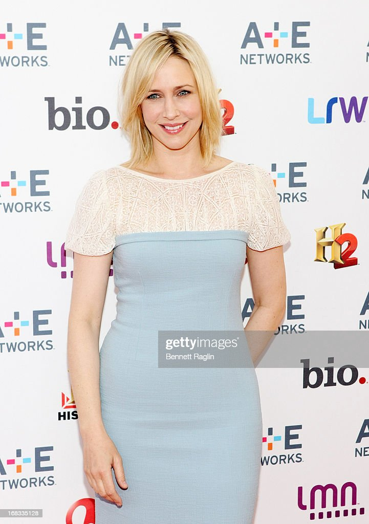 Actress Vera Farmiga attends the 2013 A+E Networks Upfront at Lincoln Center on May 8, 2013 in New York City.