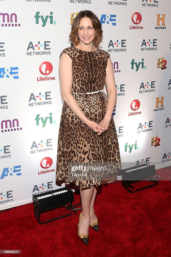 Actress Vera Farmiga attends the 2014 A+E Networks Upfronts at Park Avenue Armory on May 8, 2014 in New York City.