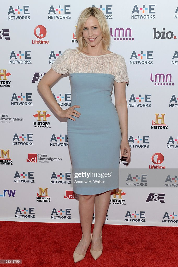 Actress Vera Farmiga attends the A+E Networks 2013 Upfront on May 8, 2013 in New York City.