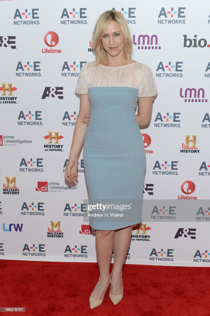 Actress <a gi-track='captionPersonalityLinkClicked' href=/galleries/search?phrase=Vera+Farmiga&family=editorial&specificpeople=227012 ng-click='$event.stopPropagation()'>Vera Farmiga</a> attends the A+E Networks 2013 Upfront on May 8, 2013 in New York City.