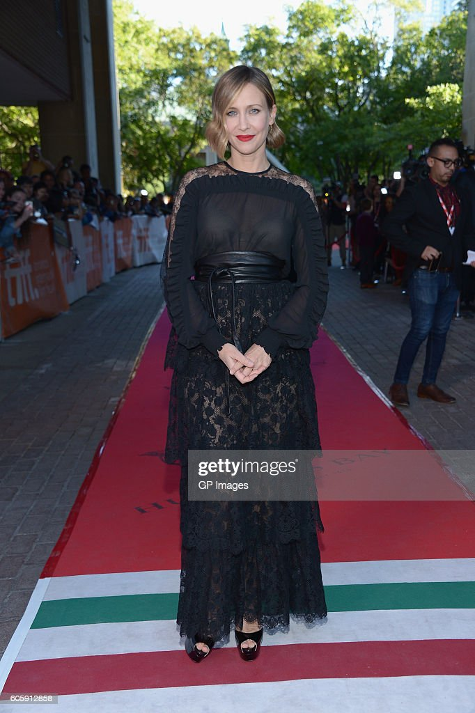 Actress Vera Farmiga attends the 'Burn Your Maps' premiere during the 2016 Toronto International Film Festival at Ryerson Theatre on September 15, 2016 in Toronto, Canada.
