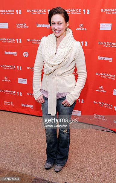 Actress Vera Farmiga attends the 'GOATS' premiere during the 2012 Sundance Film Festival held at Eccles Center Theatre on January 24 2012 in Park...