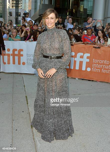 Actress Vera Farmiga attends 'The Judge' premiere during the 2014 Toronto International Film Festival at Roy Thomson Hall on September 4 2014 in...