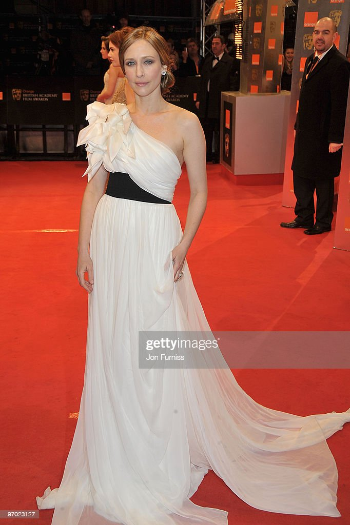 Actress Vera Farmiga attends the Orange British Academy Film Awards 2010 at the Royal Opera House on February 21, 2010 in London, England.
