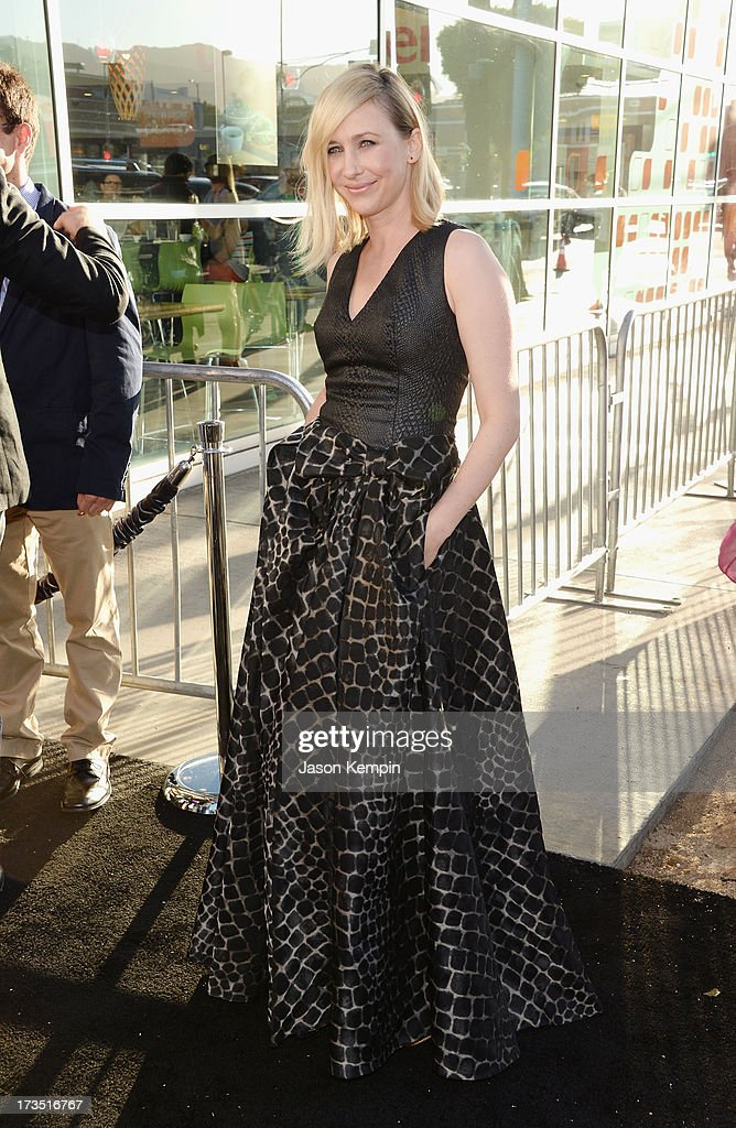 Actress <a gi-track='captionPersonalityLinkClicked' href=/galleries/search?phrase=Vera+Farmiga&family=editorial&specificpeople=227012 ng-click='$event.stopPropagation()'>Vera Farmiga</a> attends the premiere of Warner Bros. 'The Conjuring' at ArcLight Cinemas Cinerama Dome on July 15, 2013 in Hollywood, California.