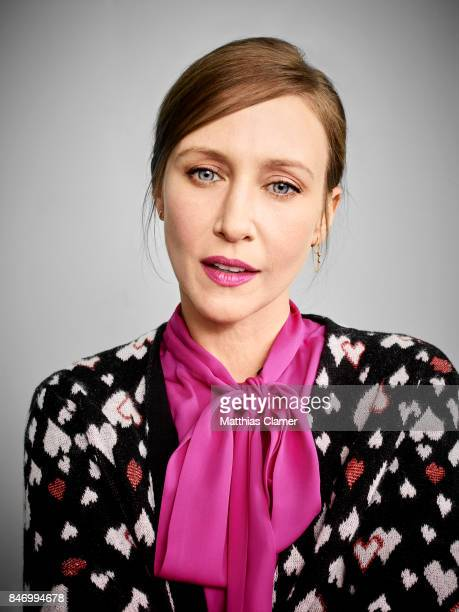 Actress Vera Farmiga from 'Bates Motel' is photographed for Entertainment Weekly Magazine on July 22 2016 at Comic Con in the Hard Rock Hotel in San...