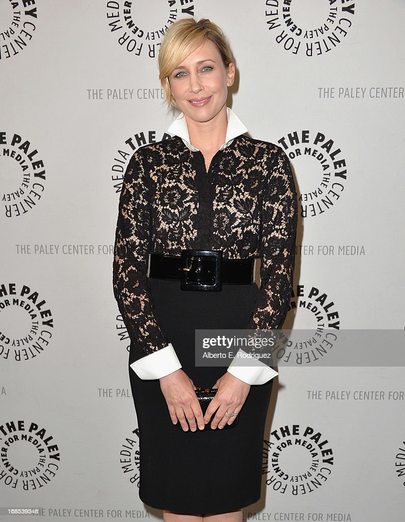Actress Vera Farminga arrivies to The Paley Center for Media Presents 'Bates Motel: Reimagining A Cinema Icon' at The Paley Center for Media on May 10, 2013 in Beverly Hills, California.