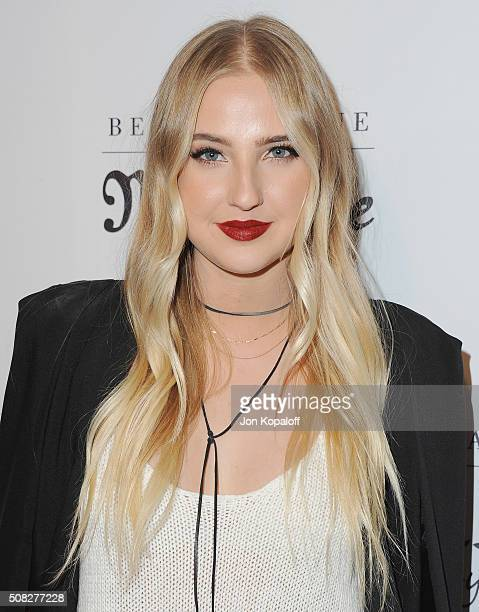Actress Veronica Dunne arrives at Bella Thorne Hosts Miss Me And Cosmopolitan's Spring Campaign Launch Event at The Terrace at Sunset Tower on...