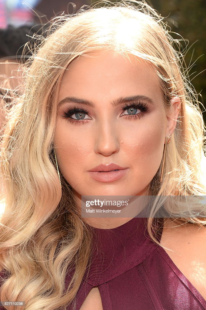 Actress Veronica Dunne arrives at the 43rd Annual Daytime Emmy Awards at the Westin Bonaventure Hotel on May 1, 2016 in Los Angeles, California.