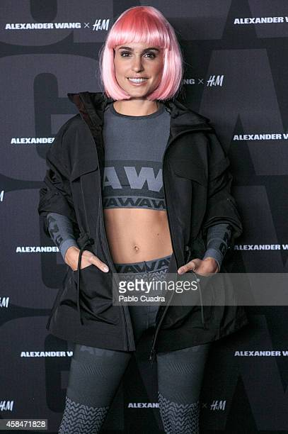 Actress Veronica Echegui attends the Alexander Wang X HM Party at 'But' Club on November 5 2014 in Madrid Spain