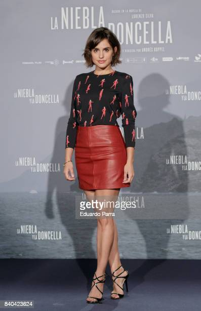 Actress Veronica Echegui attends the 'La niebla y la doncella' photocall at Urso hotel on August 29 2017 in Madrid Spain