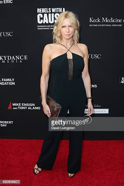 Actress Veronica Ferres arrives at the 3rd Biennial Rebels with a Cause Fundraiser on May 11 2016 in Santa Monica California