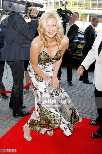Actress Veronica Ferres attends An Evening For Africa at the Burda Medien Park on June 7 2010 in Offenburg Germany