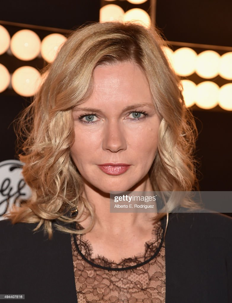 Actress Veronica Ferres attends National Geographic Channel's 'Breakthrough' world premiere event at The Pacific - actress-veronica-ferres-attends-national-geographic-channels-world-picture-id494407516