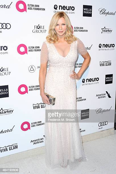 Actress Veronica Ferres attends the 23rd Annual Elton John AIDS Foundation's Oscar Viewing Party on February 22 2015 in West Hollywood California