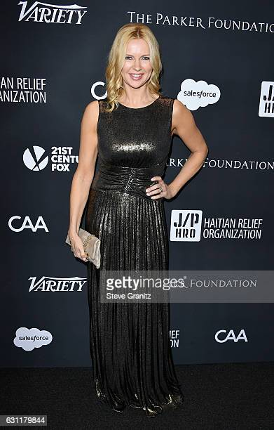 Actress Veronica Ferres attends the 6th Annual Sean Penn Friends HAITI RISING Gala Benefiting J/P Haitian Relief Organization at Montage Beverly...