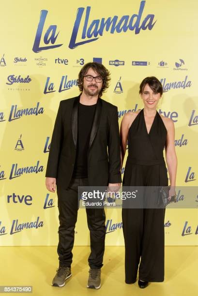 Actress Veronika Moral attends the 'La Llamada' premiere at Capitol cinema on September 26 2017 in Madrid Spain