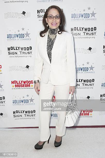 Actress Vicki Roberts attends the Hollywood Sign's 90th Anniversary at Drai's Hollywood on September 19 2013 in Hollywood California