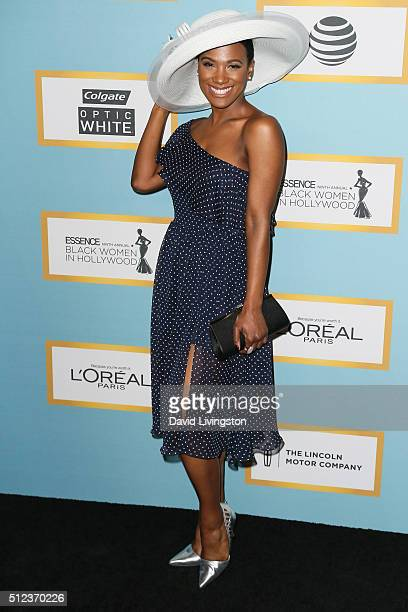Actress Vicky Jeudy arrives at the Essence 9th Annual Black Women event in Hollywood at the Beverly Wilshire Four Seasons Hotel on February 25 2016...