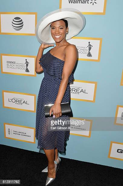 Actress Vicky Jeudy attends the 2016 ESSENCE Black Women In Hollywood awards luncheon at the Beverly Wilshire Four Seasons Hotel on February 25 2016...