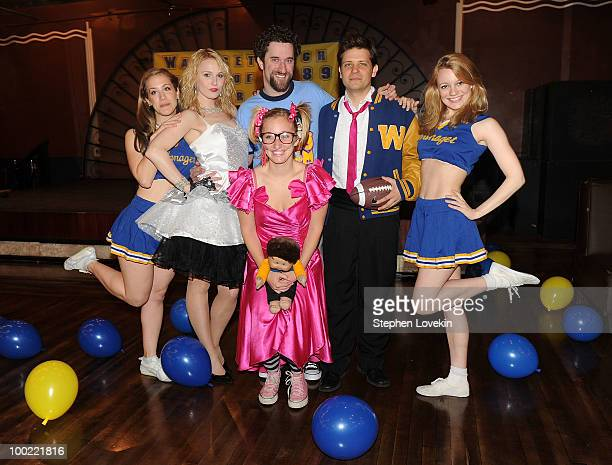 Actress Victoria Broadhurt actress Kate Wood Riley actress Angie Blocher actor Dustin Diamond actor Jason Carden and actress Jenny Peters join the...