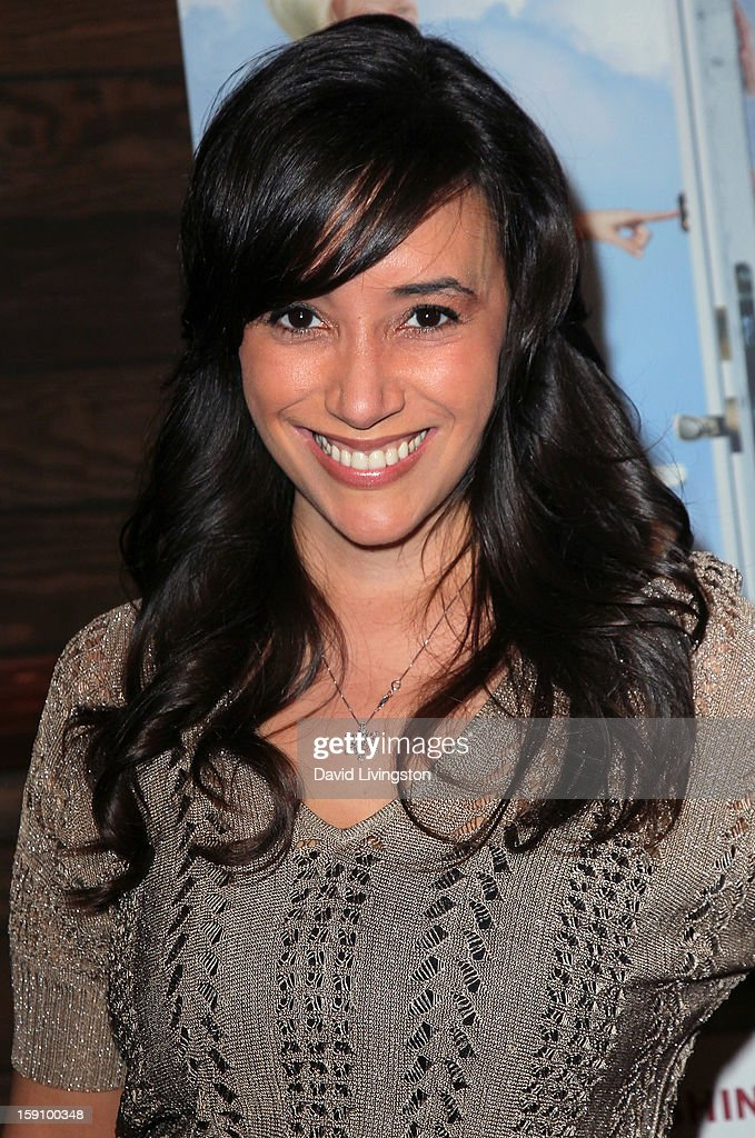 Actress Victoria Cruz attends the premiere of Salient Media's 'Freeloaders' at Sundance Cinema on January 7, 2013 in Los Angeles, California.