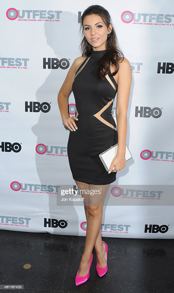 Actress Victoria Justice arrives at the Premiere Of 20th Century Fox's 'Naomi Ely's No Kiss List' At 2015 Outfest's LGBT Los Angeles Film Festival at...