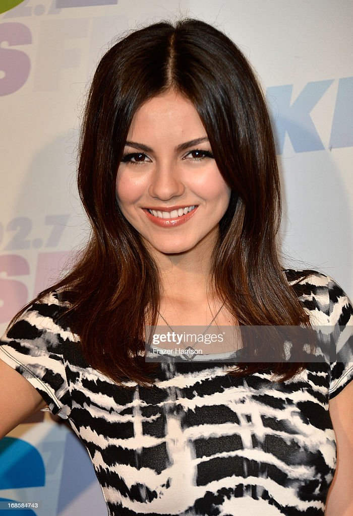 Actress <a gi-track='captionPersonalityLinkClicked' href=/galleries/search?phrase=Victoria+Justice&family=editorial&specificpeople=569887 ng-click='$event.stopPropagation()'>Victoria Justice</a> attends 102.7 KIIS FM's Wango Tango 2013 held at The Home Depot Center on May 11, 2013 in Carson, California.