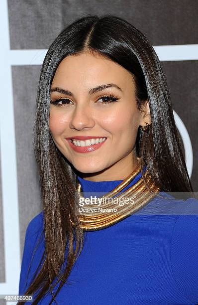 Actress Victoria Justice attends Baby Buggy's 15 Year Celebration at The Beacon Hotel on November 16 2015 in New York City