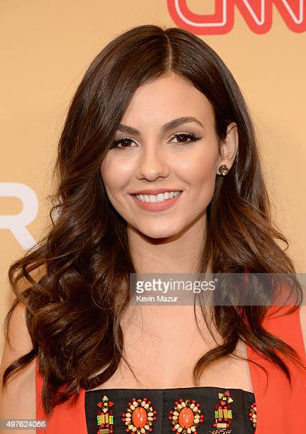 Actress Victoria Justice attends CNN Heroes 2015 Backstage at American Museum of Natural History on November 17 2015 in New York City 25619_022